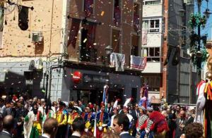 Calendario Festero - Tejidos Urrea Villena - Moros y Cristianos