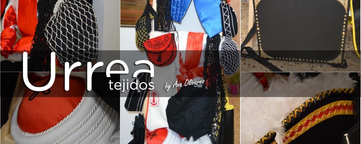 Complementos de Moros y Cristianos Tejidos Urrea by Ana Olivares Villena