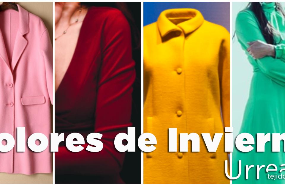 Colores de invierno en Villena Tejidos Urrea by Ana Olivares