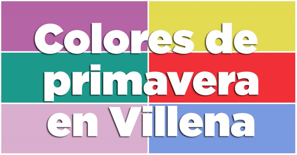 Colores de primavera en Villena