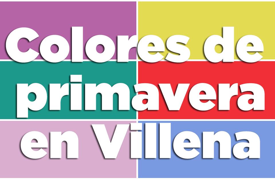 Colores de primavera en Villena - Tejidos Urrea by Ana Olivares