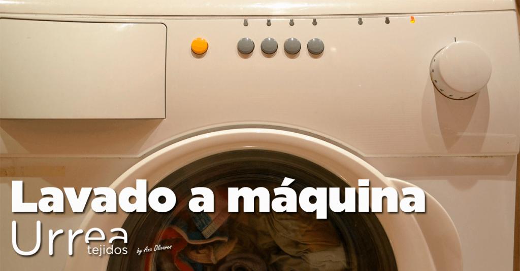 Lavado a máquina de prendas