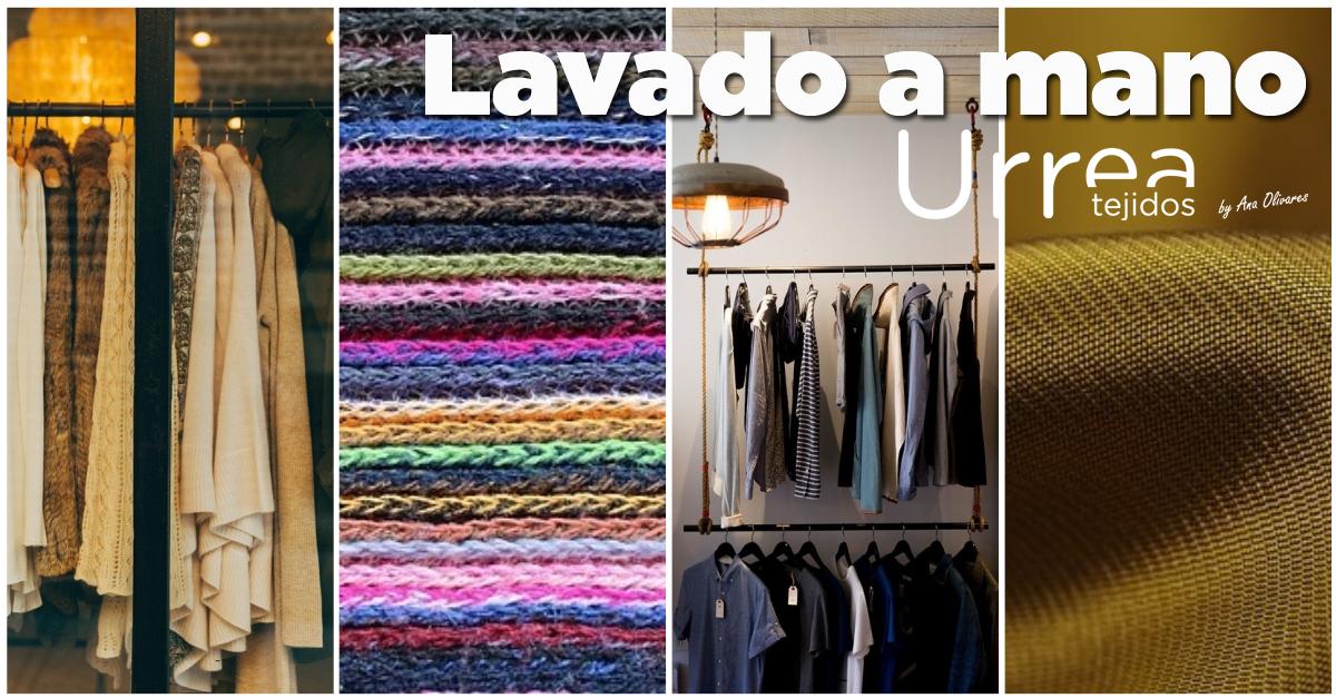 Lavado a mano - Tejidos Urrea by Ana Olivares - Villena