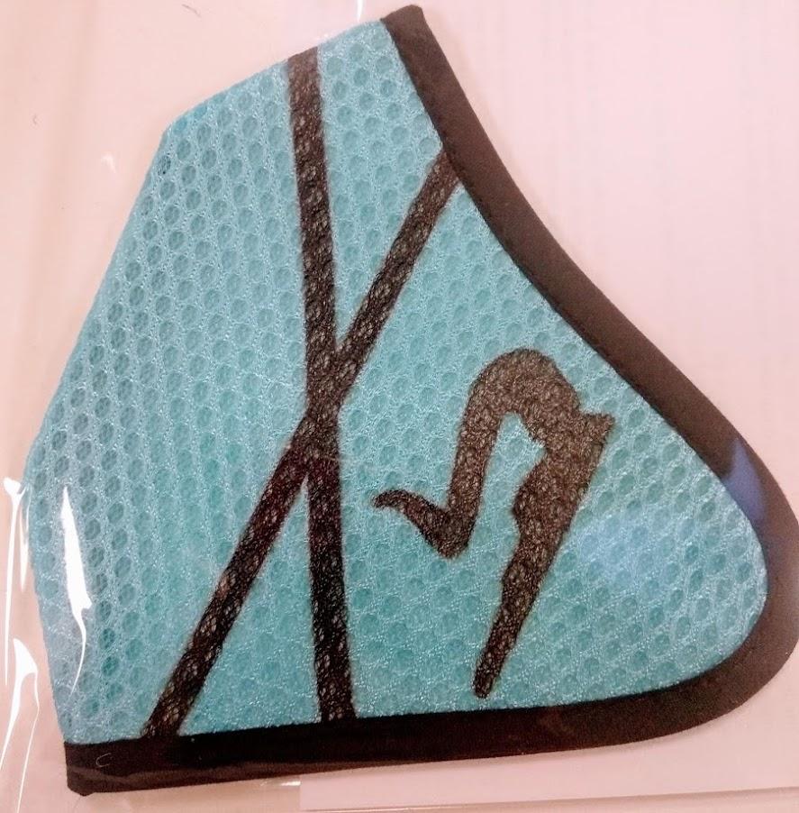 Mascarilla azul 3D