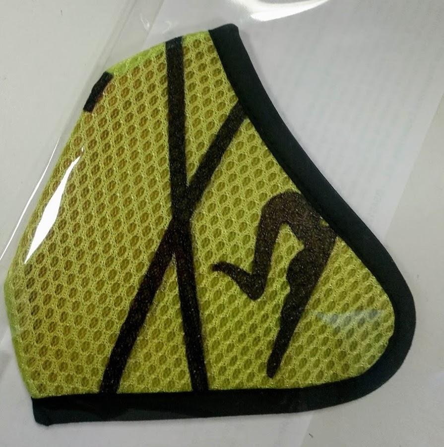 Mascarilla verde 3D